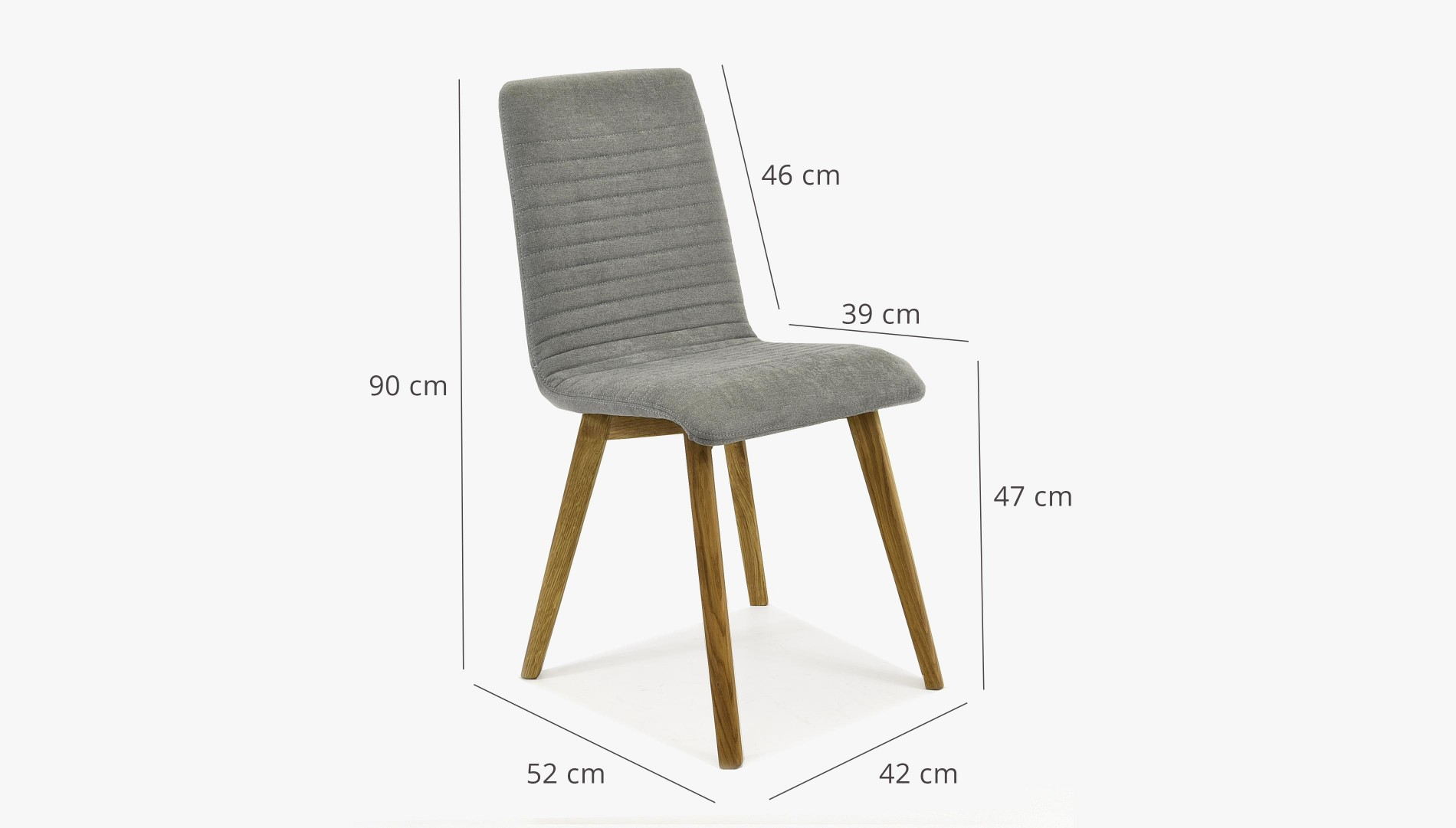 Modern ebédlőasztal és székek BJÖRK 1+6