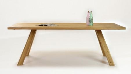 Bővíthető tölgyfa asztal 140 x 90