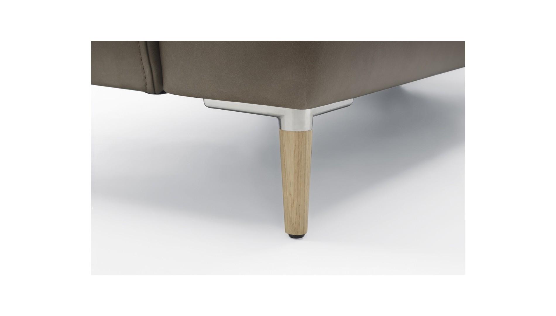 Polcos dohányzóasztal - tömörfa