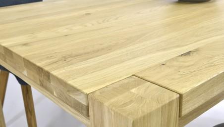 Moderní jídelní židle - Kožená