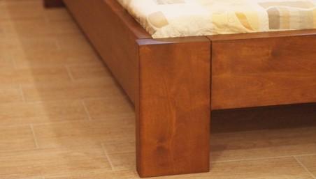 Tölgyfa fotel Theo II - mustárszín