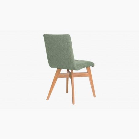 Stůl z masivu - ocelové nohy + židle
