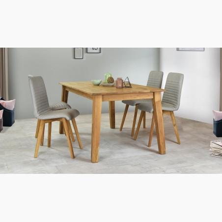 Jídelní židle retro šedá