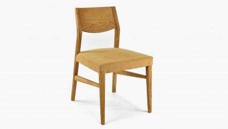 Kožená barová židle - otočný sedák, Lemon Lotos