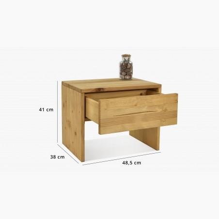 Dřevěná komoda v provence stylu, France typ 49