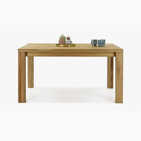 Jídelní stůl masiv Tina + židle dub Arosa