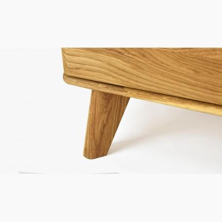 Jídelní stůl pro šesti dekton + židle dub Norman
