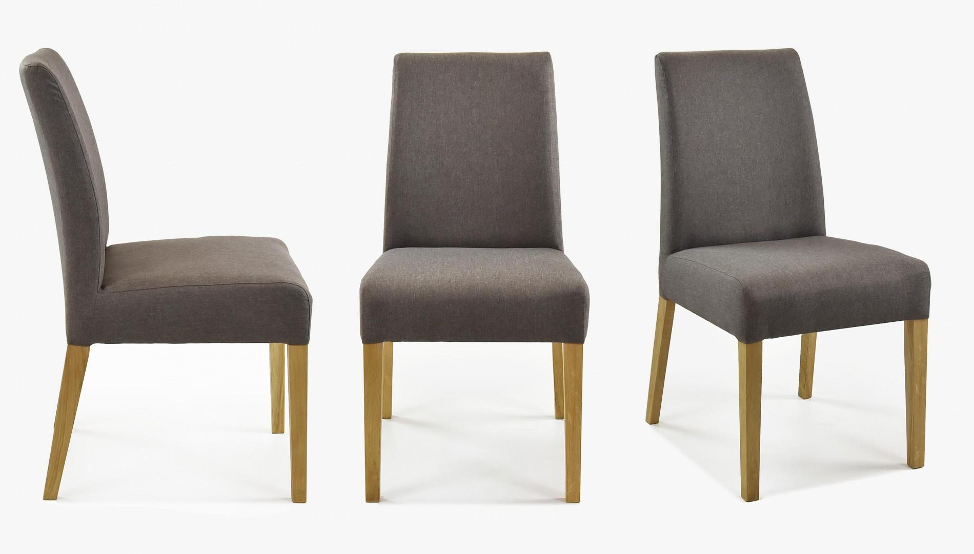 Stílusos tölgyfa szék és asztal