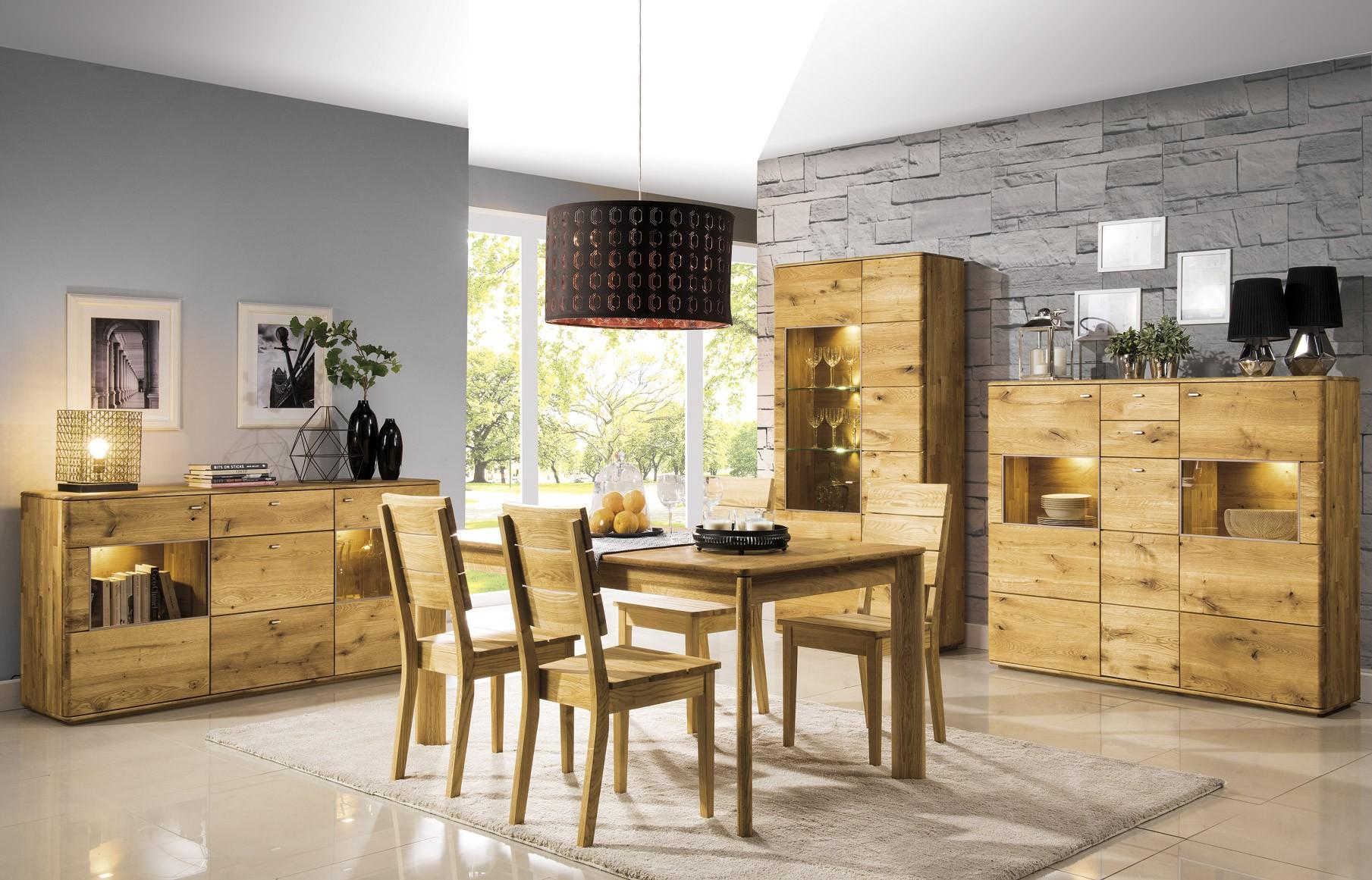 Tölgyfa konyhai asztal
